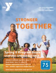 Spring II Programs!!!
