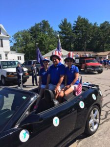 Y Leads 4th of July Parade as Grand Marshal!!!