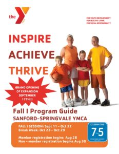 FALL PROGRAMS ARE HERE!!!