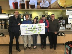 Sanford Cumberland Farms Supports YMCA!!!